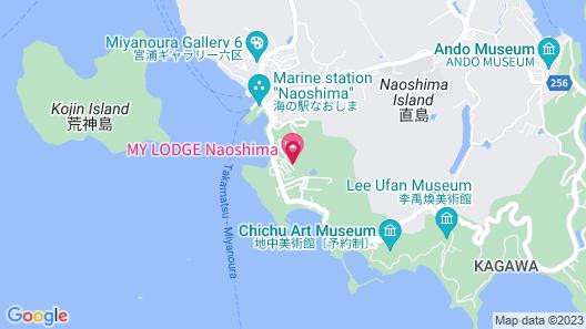 MY LODGE Naoshima Map