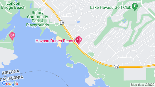 WorldMark Havasu Dunes Map