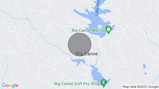 The Bees Knees of Big Canoe! North GA Mountain Cabin Map