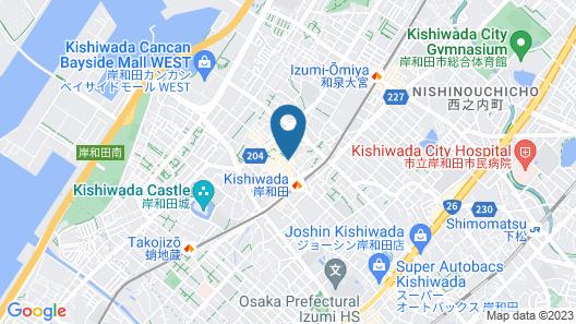 APA Hotel Kanku-Kishiwada Map