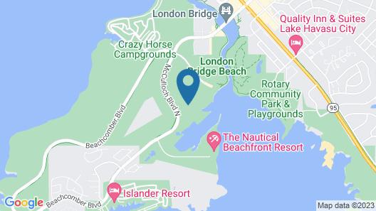 The Nautical Beachfront Resort Map
