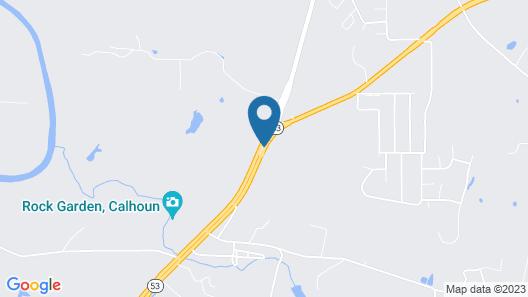 Fairfield Inn & Suites Calhoun Map