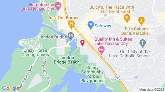 London Bridge Resort Map