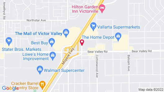 Travelodge by Wyndham Victorville Map