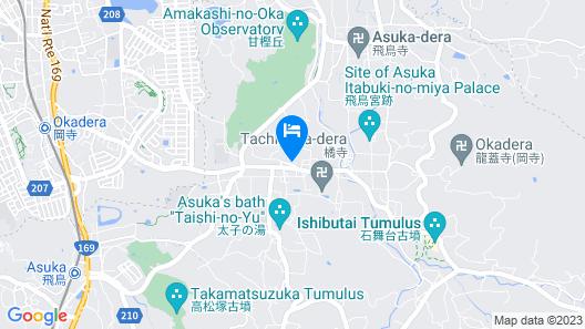 B and B Asuka Map