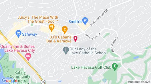 Hidden Palms Resort and Condominiums Map