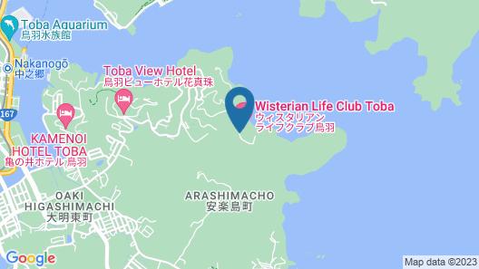 Wisterian Life Club Toba Map