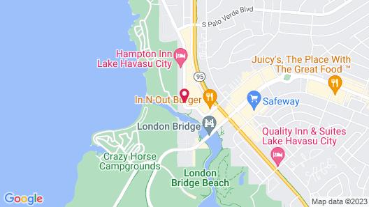 Bridgewater Motel Map