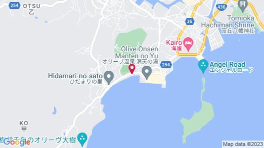 Shodoshima Seaside Hotel Matsukaze Map