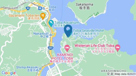 Toba Seaside Hotel Map