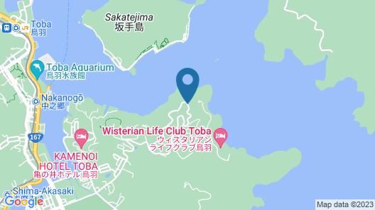 Hotel Toba Kowakien Map