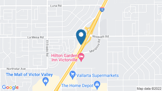 Home2 Suites by Hilton Victorville Map