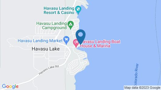 Havasu Landing Resort & Casino Map