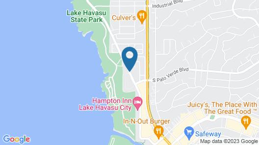 Travelodge by Wyndham Lake Havasu Map