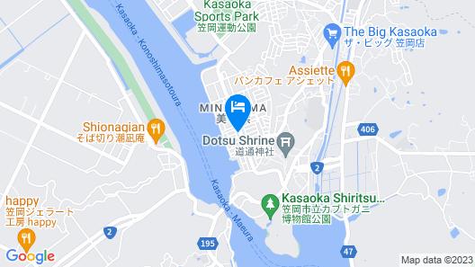 Auberge Minohama Ryuseki Map