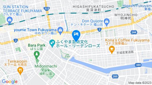 Fukuyama Royal Hotel Map