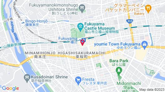 SETOUCHI.KNOT - Hostel Map