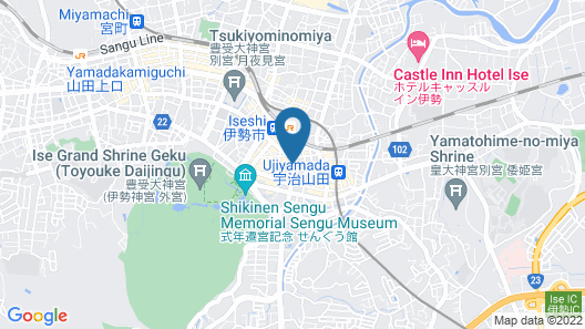 THY Guest House - Hostel Map