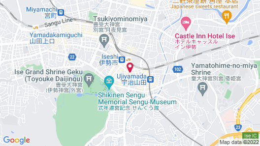 Ise Guest House Kazamiso Map
