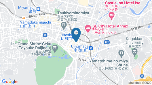 Comfort Hotel Ise Map