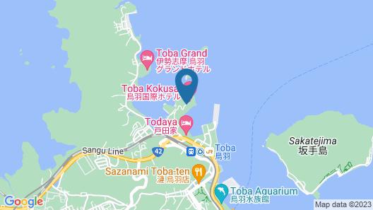 Toba Hotel International Map