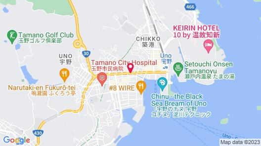 Guest House Kikusui Ryokan Map