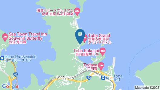 Toba Grand Hotel Map