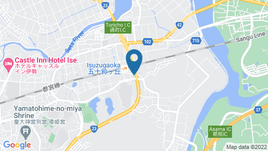 Business Hotel Hane Ise Inter Map