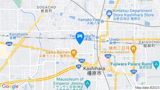 Auberge Komorebi Map