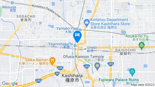 Yamato Kashihara City Hotel Map