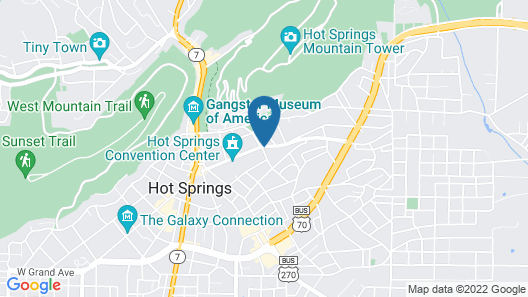 Embassy Suites by Hilton Hot Springs Hotel & Spa Map