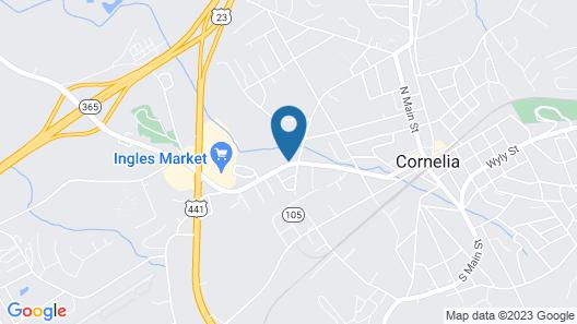 Days Inn by Wyndham Cornelia Map