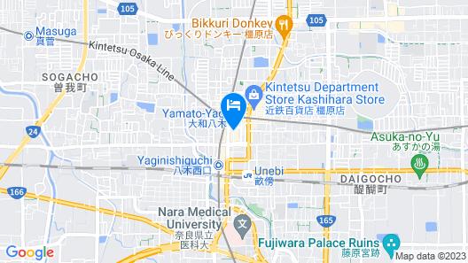 CANDEO HOTELS NARA KASHIHARA Map