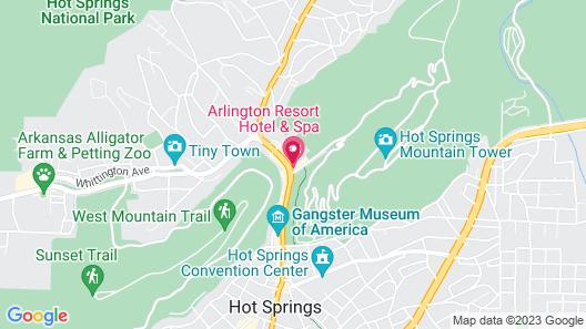 Arlington Resort Hotel and Spa Map