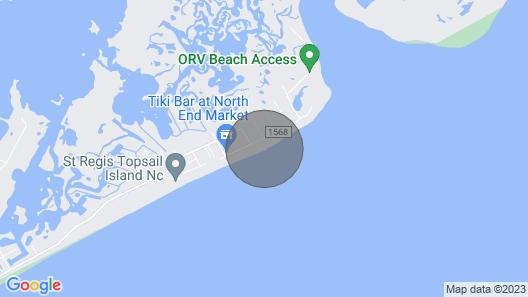 Beach Front Condo!!! Map