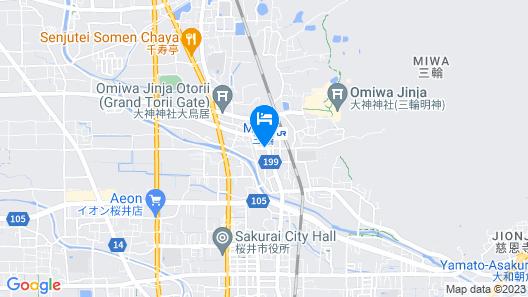 Machiya Guest House Mimoro Map