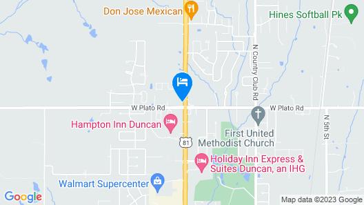 Days Inn by Wyndham Duncan Map
