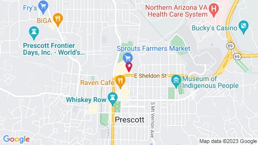SpringHill Suites By Marriott Prescott Map