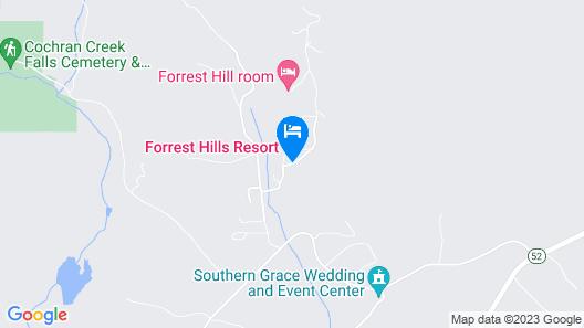 Forrest Hills Mountain Resort Map