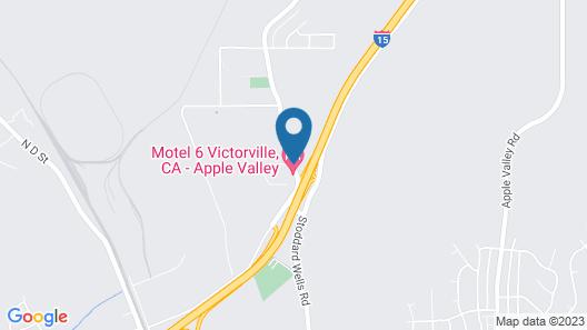 Hilltop Inn & Suites Map