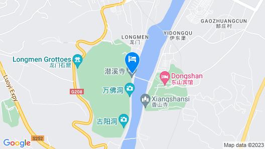 Luoyang Dongshan Hotel Map