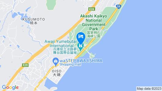 Grand Nikko Awaji Map