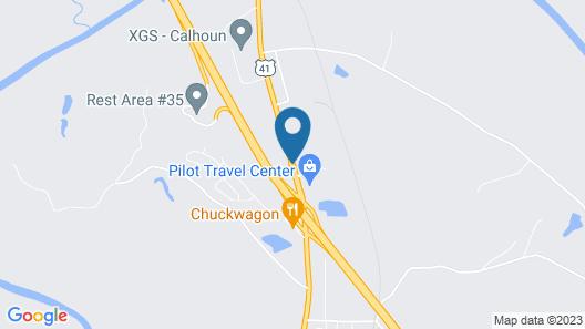Days Inn by Wyndham Calhoun GA I-75 and US-41 Map