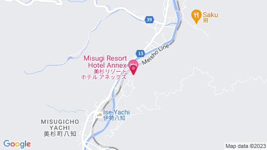Hinotanionsen Misugi Resort Map