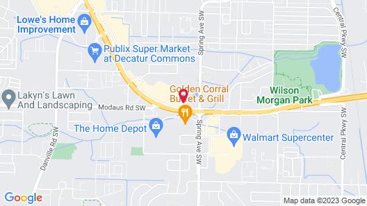 La Quinta Inn by Wyndham Decatur Map