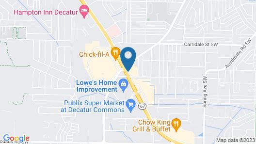 Baymont by Wyndham Decatur Map