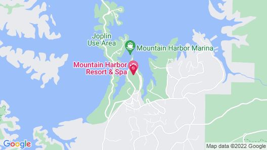 Mountain Harbor Resort and Spa Map