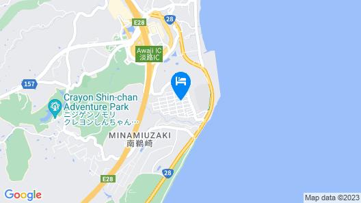 Awaji Seaside Resort in Iwaya 3000 Map