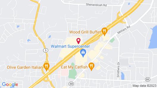 Fairfield Inn & Suites Little Rock Benton Map