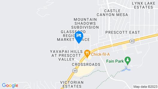 Comfort Suites Prescott Map
